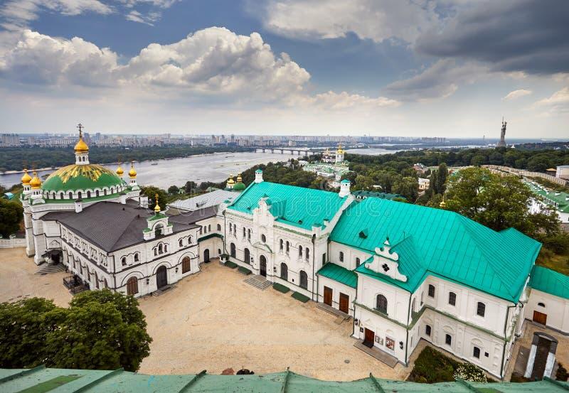 Kiev Pechersk Lavra Orthodox Church fotos de archivo