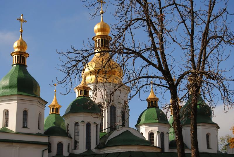 KIEV-September, 2012: Sacred Sofia cathedral royalty free stock image