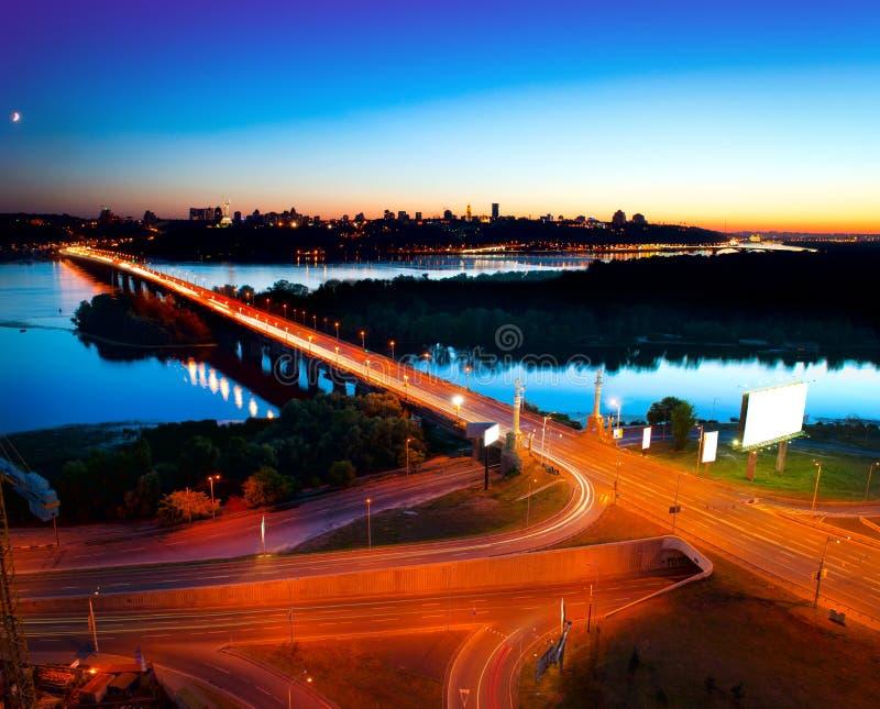 Kiev stad - capitalen av Ukraina royaltyfria bilder