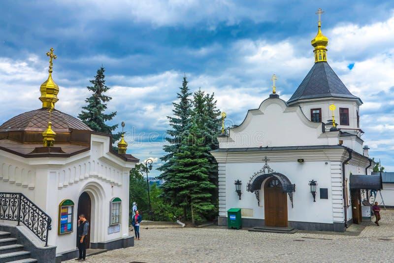 Kiev stora Lavra 38 fotografering för bildbyråer