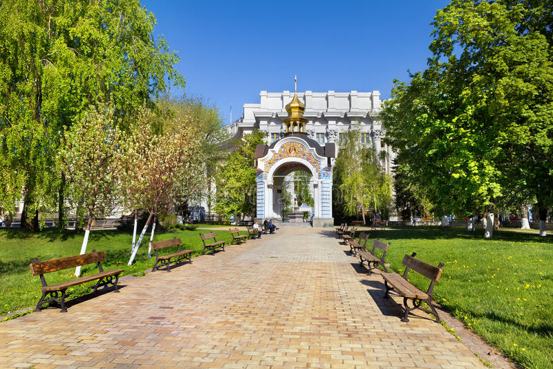 Kiev, Ucrânia fotos de stock royalty free
