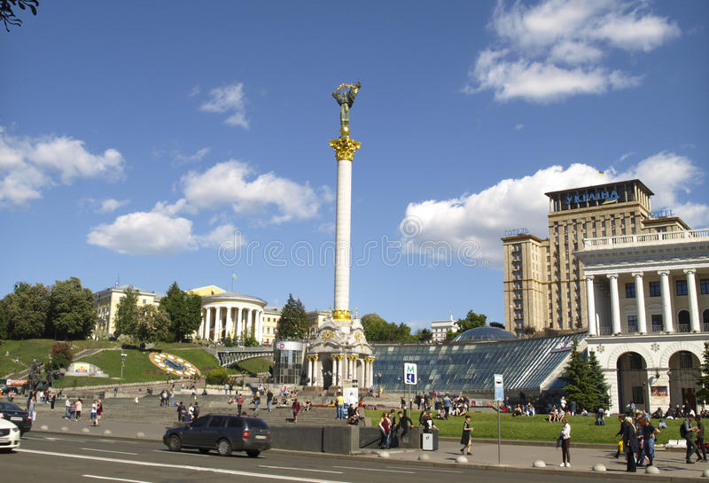 Kiev, Ucrânia foto de stock royalty free
