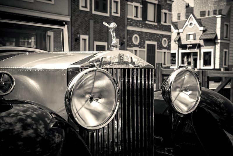 Kiev, Ucrânia 16 de julho de 2016: Rolls-Royce Phantom fotografia de stock royalty free