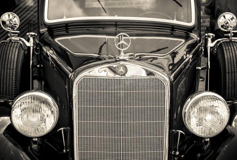 Kiev, Ucrânia 16 de julho de 2016: Vintage Mercedes imagens de stock