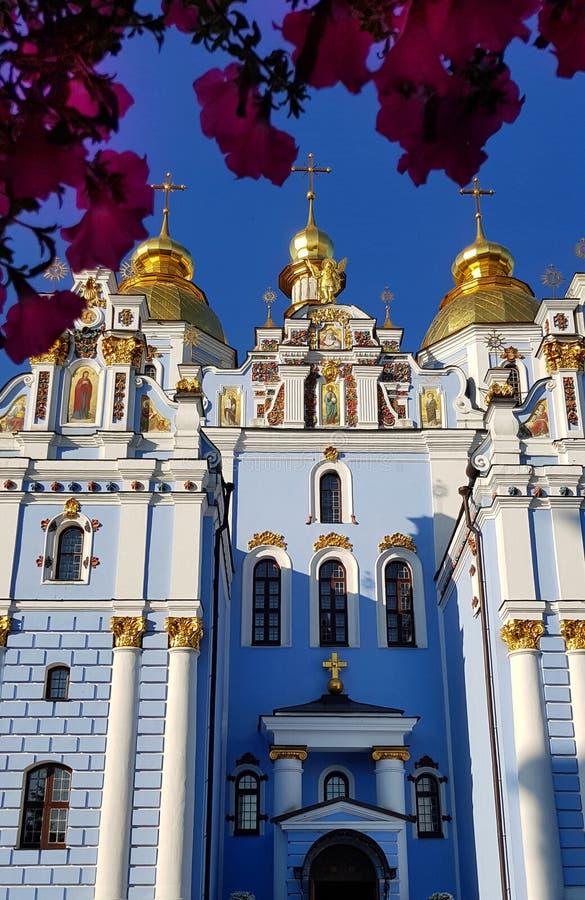Kiev, Ucraina Il monastero Dorato-a cupola di St Michael - monumento religioso fotografia stock