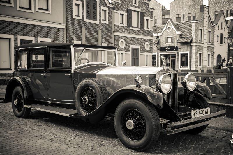 Kiev, Ucrania 16 de julio de 2016: Rolls-Royce Phantom fotografía de archivo libre de regalías