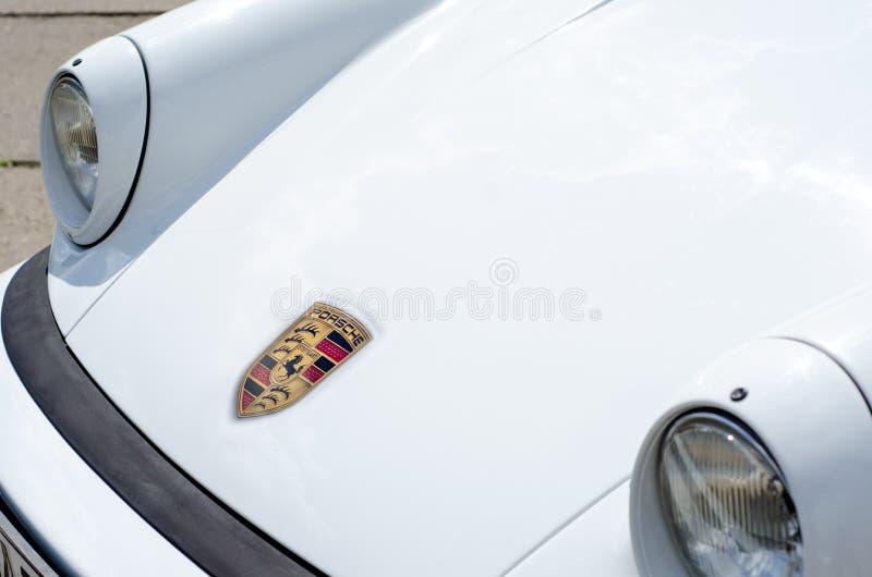 Kiev, Ucrania - 11 de mayo de 2019: Porsche 911 1979 foto de archivo libre de regalías