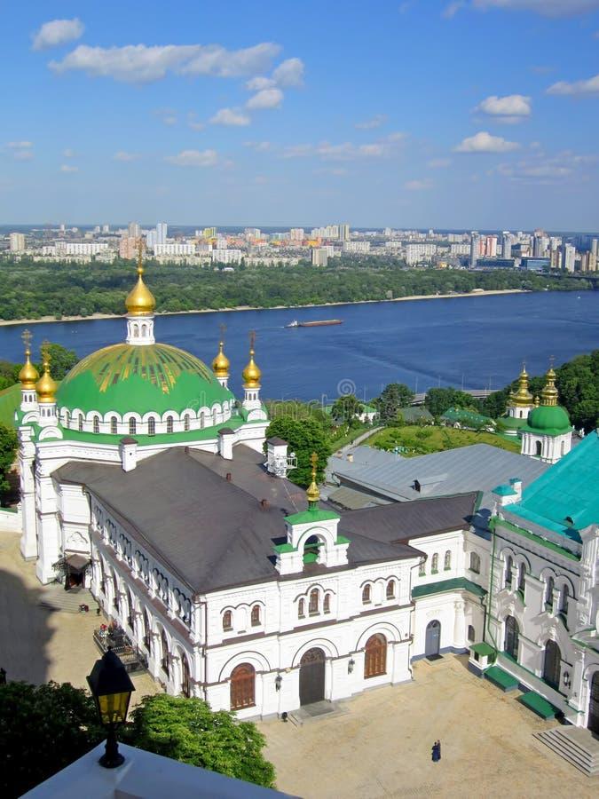 KIEV - UCRANIA - MAYO DE 2016 Kiev-Pechersk Lavra, iglesia ortodoxa imagenes de archivo