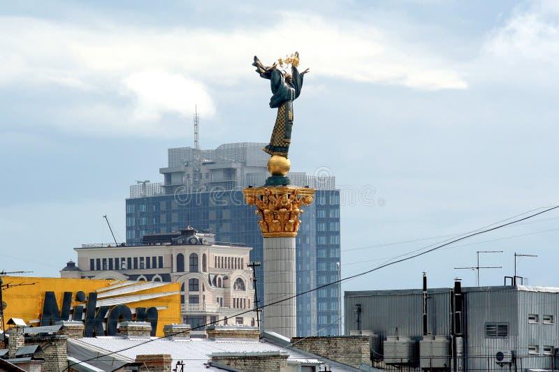 2011 09 11, Kiev, Ucrania Paisajes urbanos de Kiev, Ucrania Arquitectura de Ucrania fotos de archivo