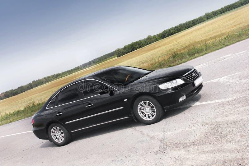 Kiev Ukraina - Augusti 6, 2018: Hyundai prakt på vägen royaltyfri bild