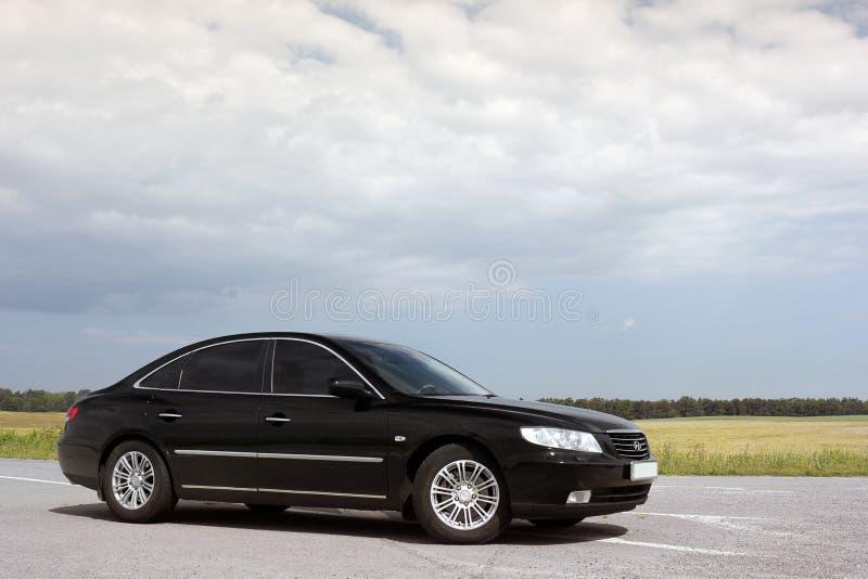 Kiev Ukraina - Augusti 6, 2018: Hyundai prakt p? v?gen royaltyfria foton