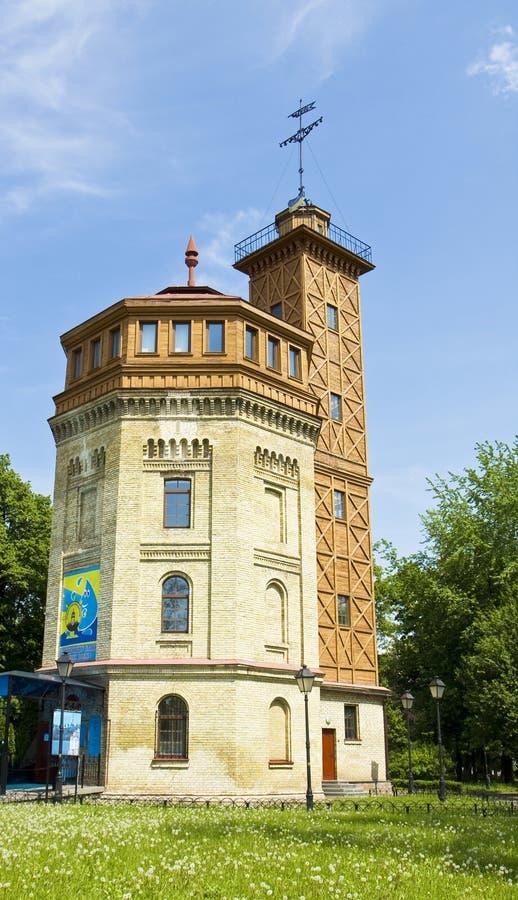Kiev Ukraina, museum av bevattnar royaltyfri foto
