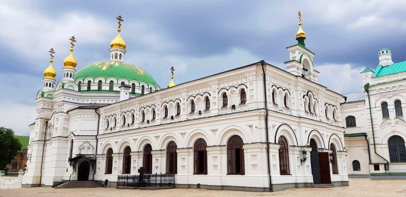 Kiev Ukraina Pechersk Lavra kloster - Unesco-arv arkivbilder
