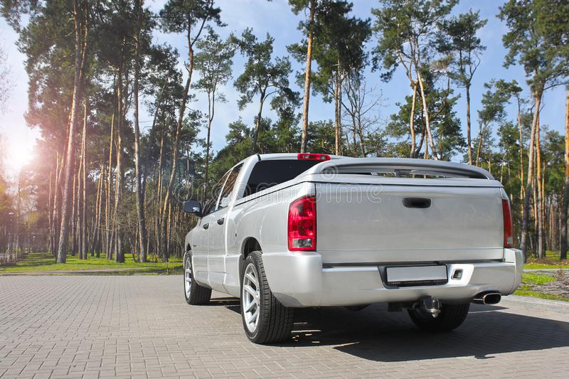 Kiev, Ukraine; April 10, 2015. Dodge Ram SRT-10 stock images
