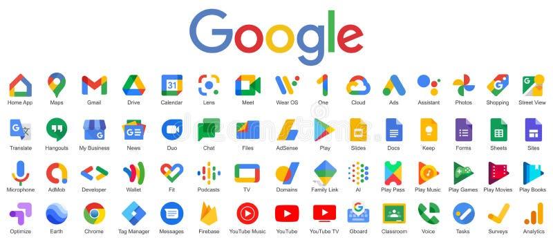 Google Producten die tegenwoordig ter beschikking staan