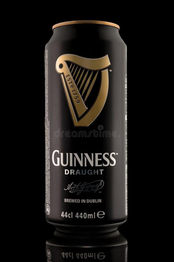 Kiev, Ukraine - December 15, 2016: Guinness draught, the popular royalty free stock photo