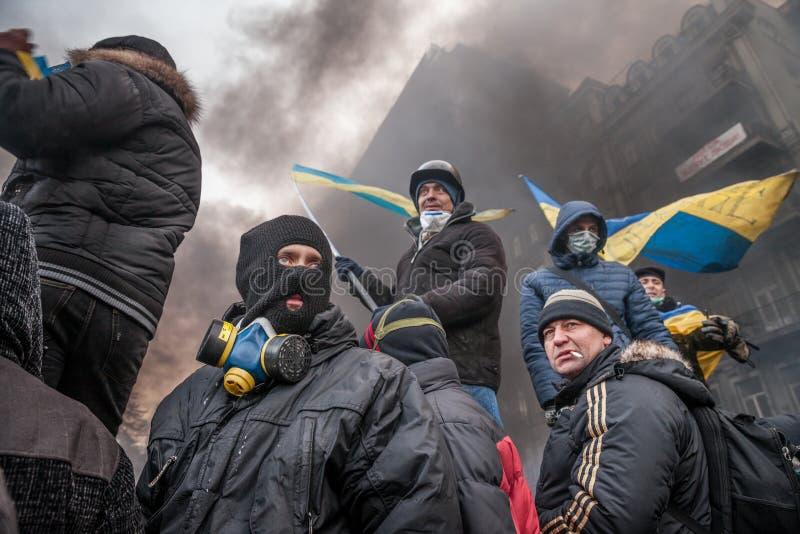 Download KIEV, UKRAINE - January 25, 2014: Mass Anti-government Protests Editorial Image - Image: 37119025