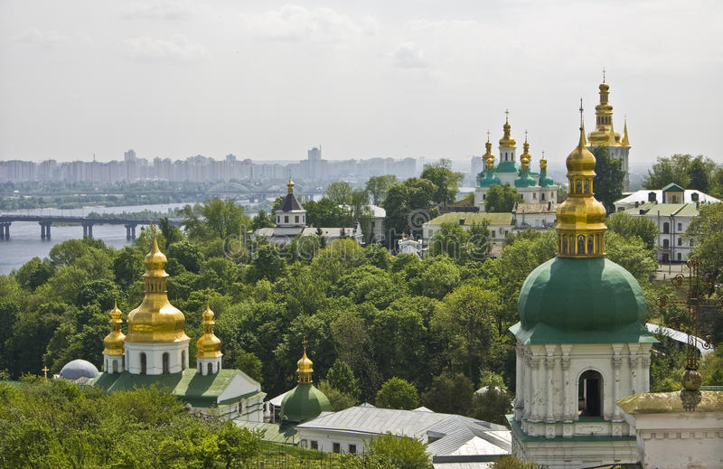 Kiev, Ukraine, Kievo-Pecherskaya lavra monastery stock photo