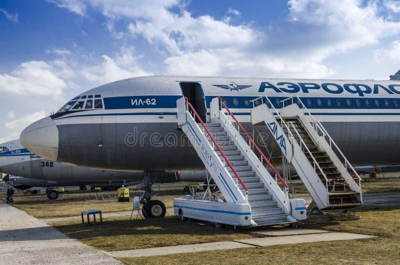 Kiev, Ukraine, le 7 mars 2019 - musée national d'aviation éditorial photo stock