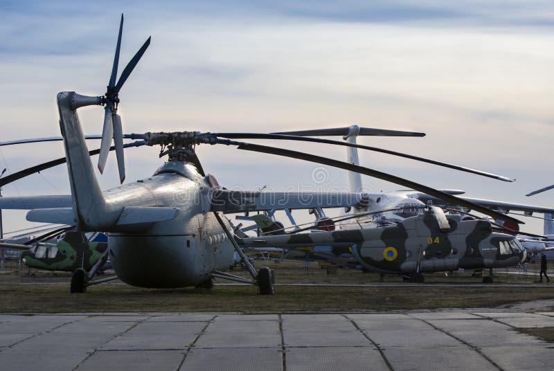 Kiev, Ukraine, le 7 mars 2019 - musée national d'aviation éditorial photo libre de droits