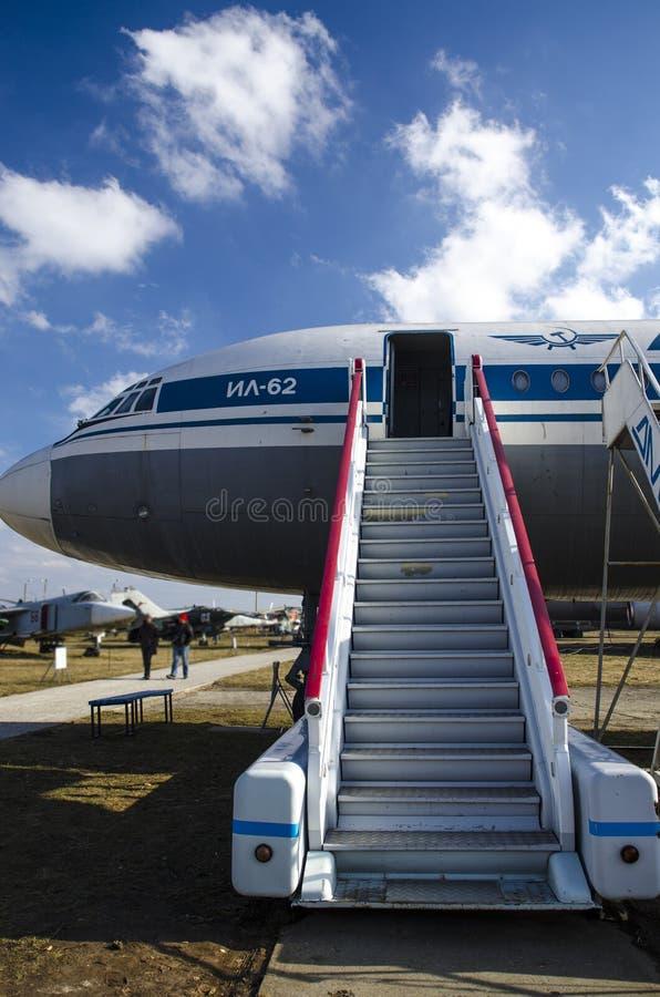 Kiev, Ukraine, le 7 mars 2019 - musée national d'aviation éditorial photos libres de droits