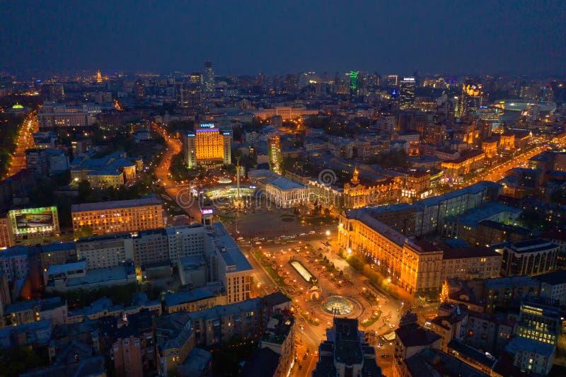 Kiev, Ukraine - mai 2019 : Monument de l'indépendance de l'Ukraine à Kiev Vues historiques de l'Ukraine photo stock