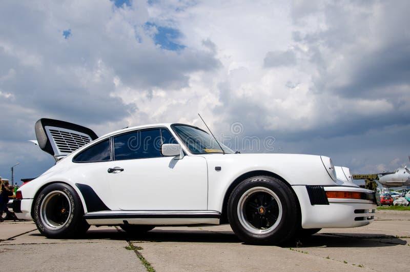 Kiev, Ukraine - 11 mai 2019 : Porsche 911 1979 photos stock