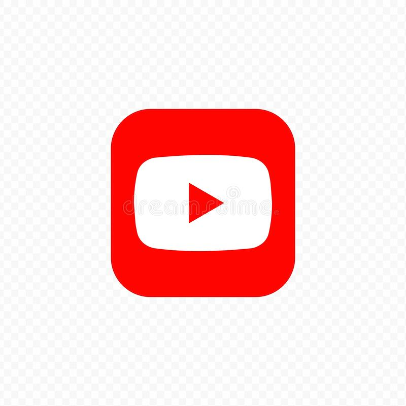 Free Kiev, Ukraine - March 30, 2021: You Tube Icon. Social Media Icons. Realistic You Tube App. UI UX White User Interface Royalty Free Stock Photography - 215828047