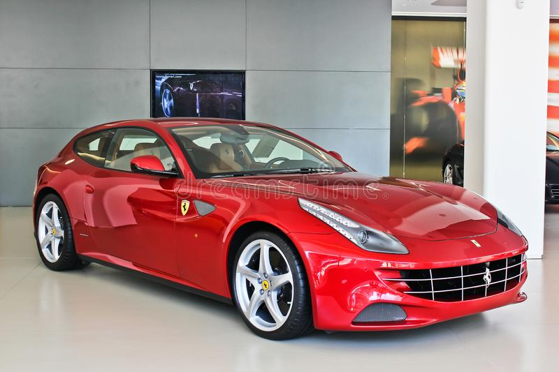 kiev ukraine 30 november, 2015 FF van Ferrari royalty-vrije stock foto