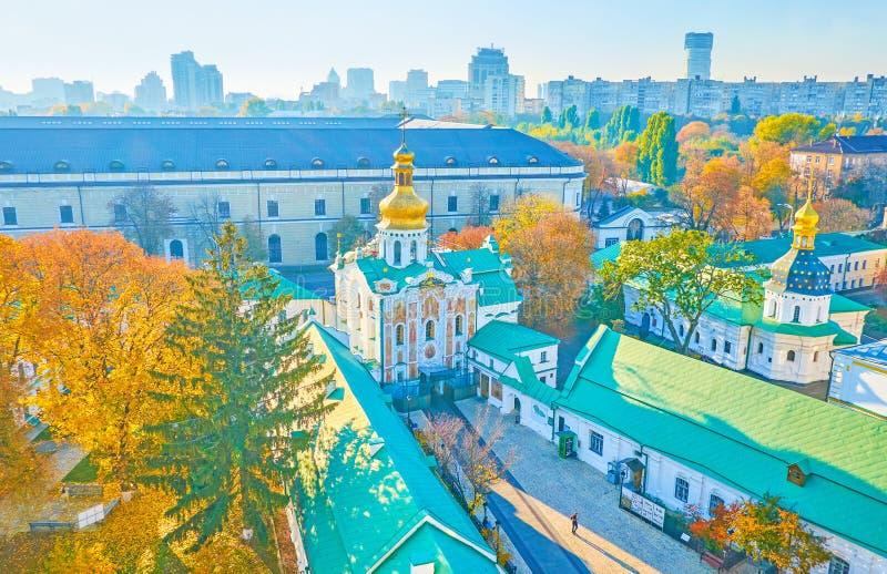 The Gate Church of the Trinity, Kiev, Ukraine stock images
