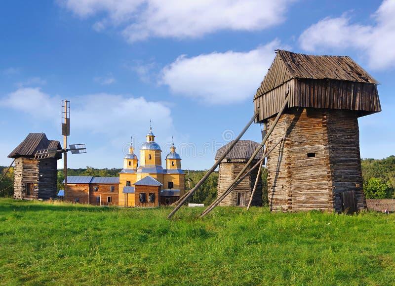 Kiev. Ukraine. Open-air museum Pirogovo. stock image