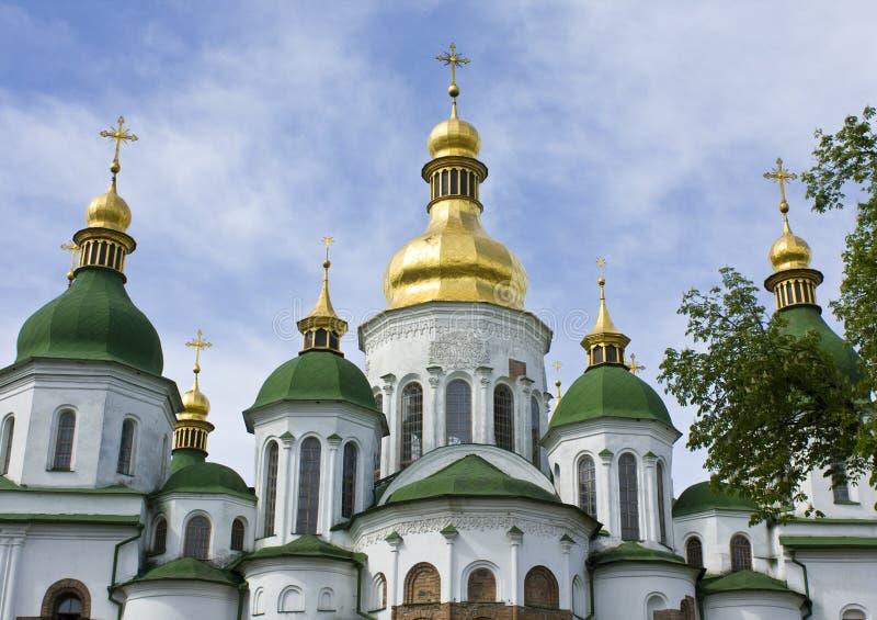 Kiev, Ukraine, Soviyiskiy cathedral stock images