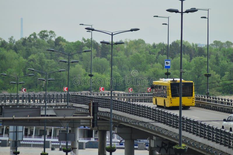 Kiev, Ukraine Ukraine 7 05 2019 ; Transport dans la vie de Kiev et de ville images stock