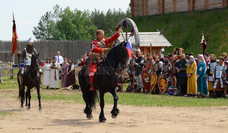 Kievan Rus Nobleman arkivbilder