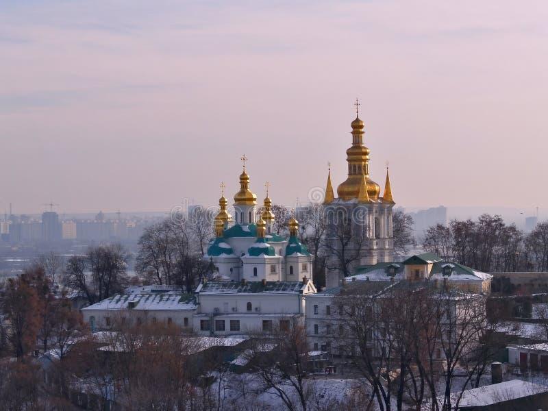 Kievo-Peshersk Lavra fotografie stock libere da diritti