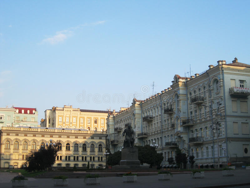 Kiew-Stadt, Ukraine lizenzfreies stockbild