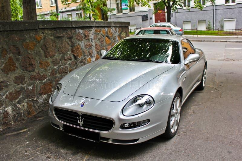 Kiew, Ukraine; Am 10. April 2014 Maserati-Coupé 4 2 V8 stockbild