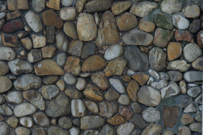 Kiezelstenen en stenen royalty-vrije stock afbeelding