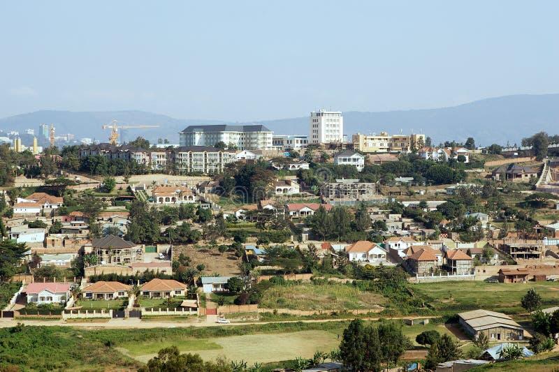 Kigali landscape stock photo