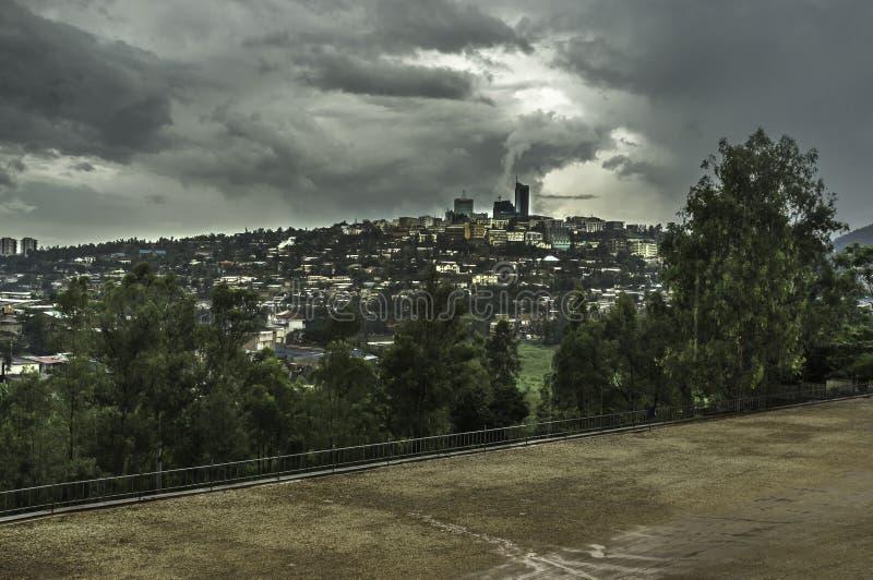 Kigali Ruanda immagine stock libera da diritti
