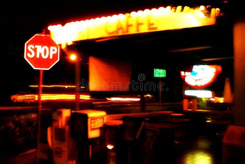 Kihei Caffe royalty free stock image