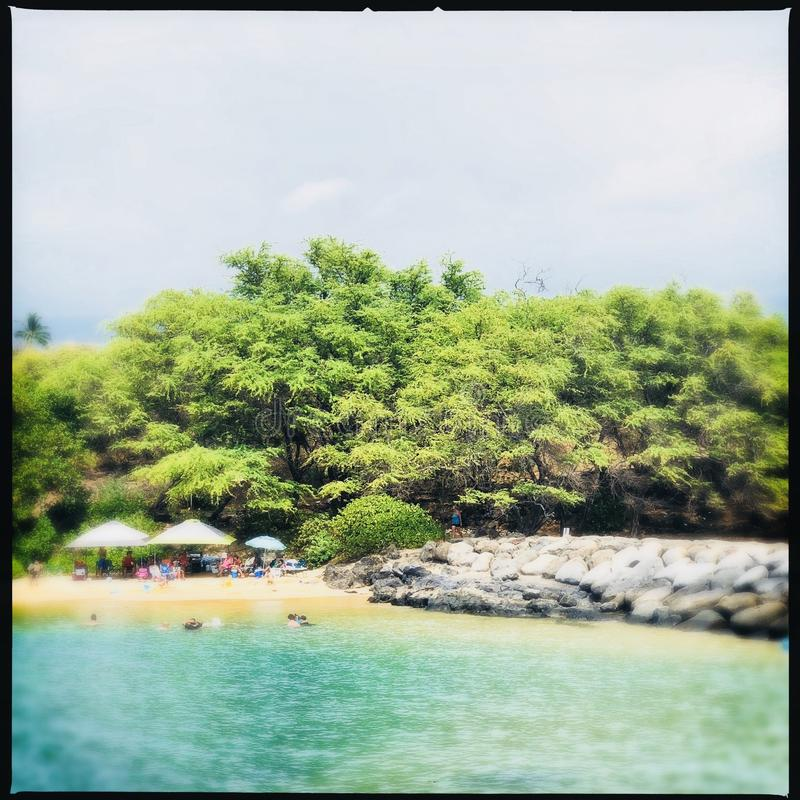 Kihei in Maui Hawaï royalty-vrije stock foto