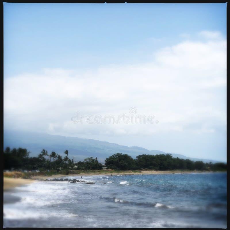 Kihei plaża fotografia royalty free