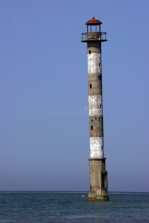 Kiipsaare Leuchtturm stockbild