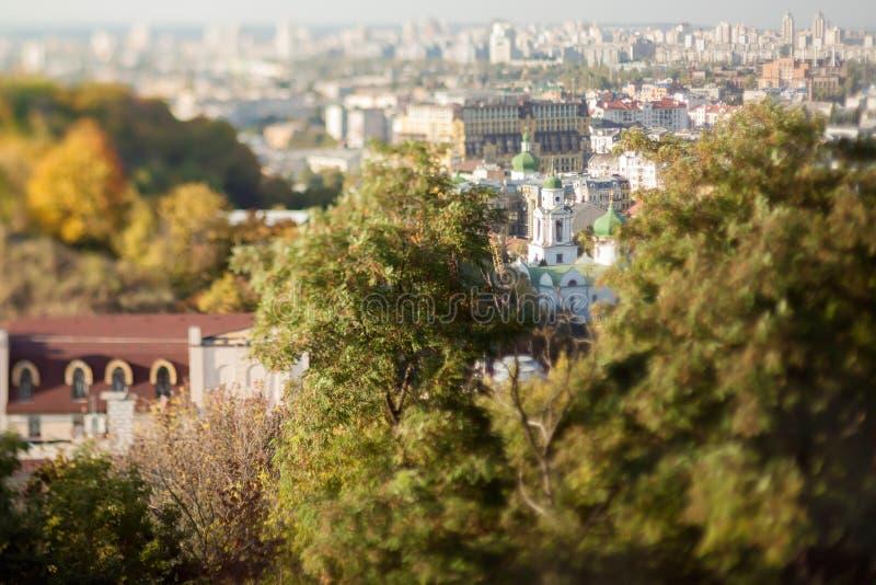 Kijów przy zmierzchem zdjęcie stock
