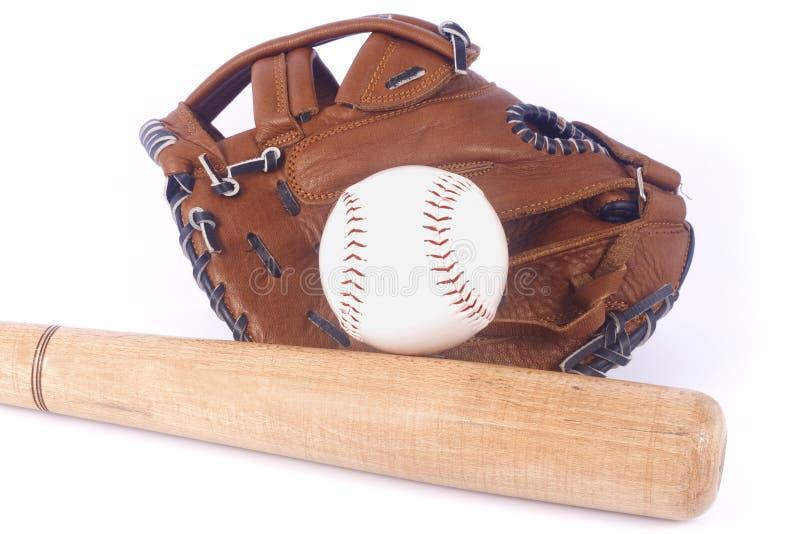 kij baseballowy mitenka obrazy royalty free
