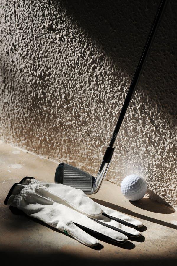 Kij golfowy fotografia royalty free