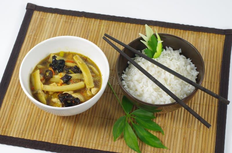 Download Kij i ryż obraz stock. Obraz złożonej z szczegółowy, grainer - 28960235