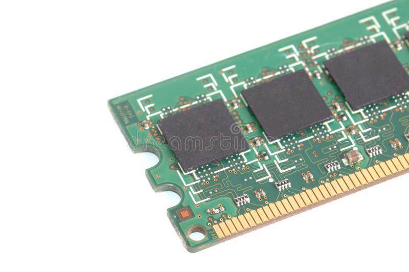 Kij komputerowa przypadkowa dojazdowa pamięć (RAM) zdjęcia stock
