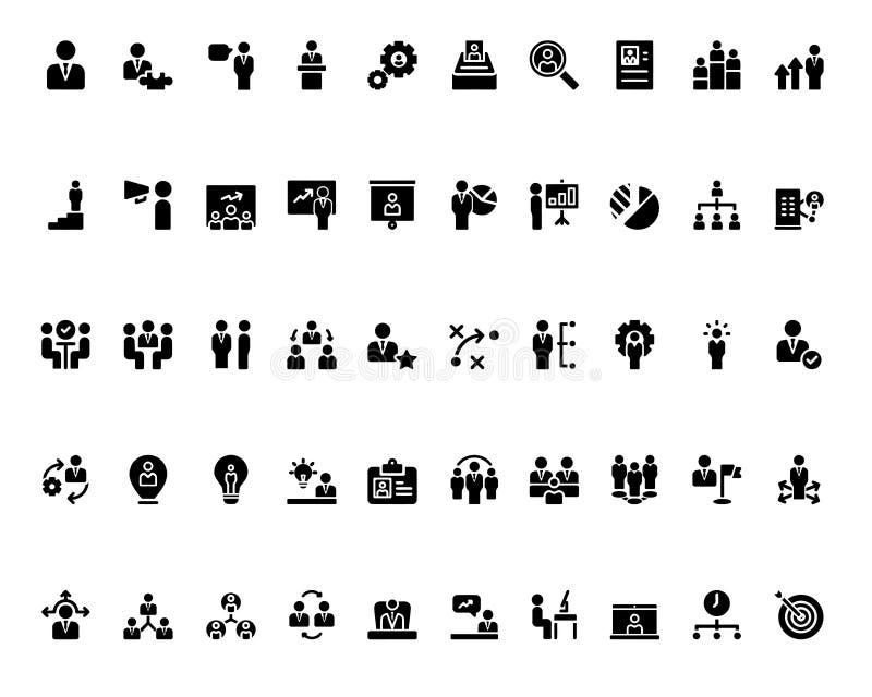 Kij postaci monochrom ilustracji